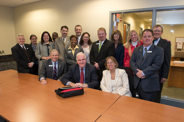 Rep. Meehan visit to Haverford Y